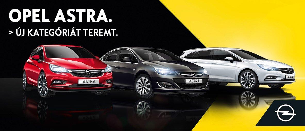 Opel Astra ajánlataink az Opel Gombostól
