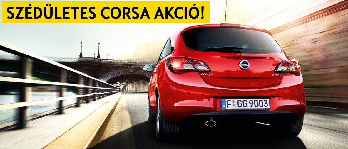 Szédületes Opel Corsa akció - Opel Gombos, Budapest