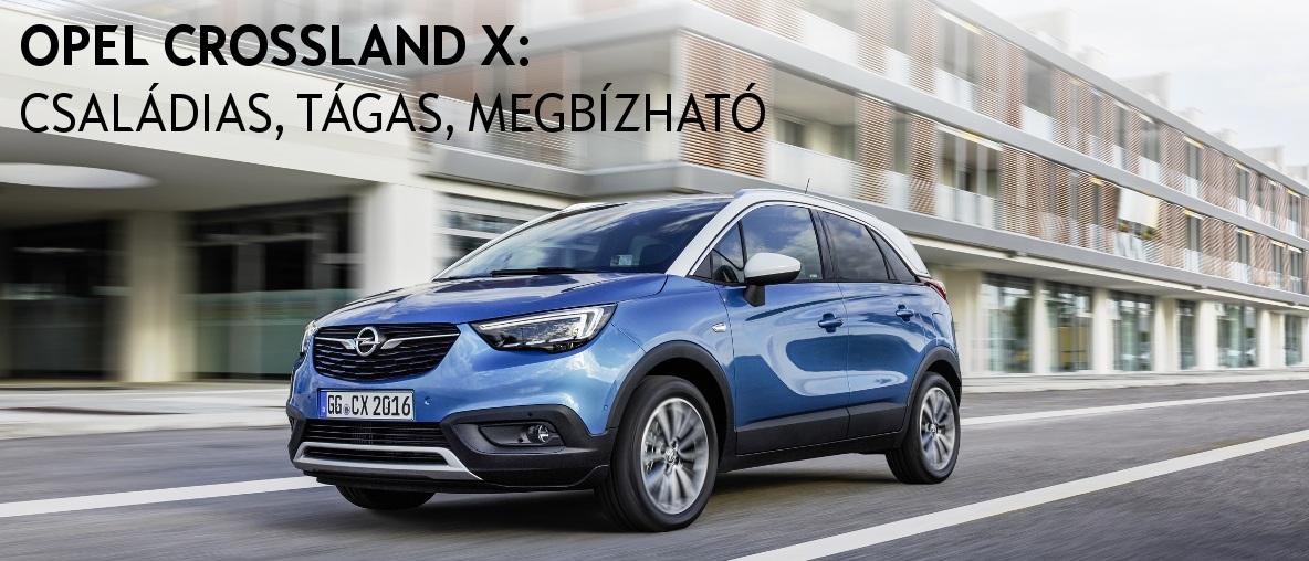 Opel Crossland X - Még többet rejt! - Opel Gombos