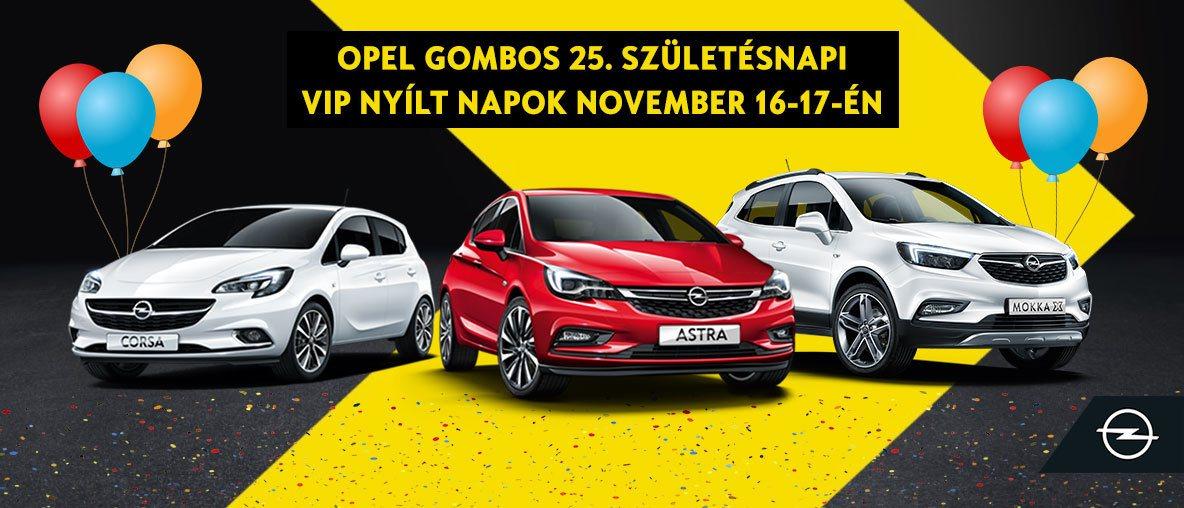 24 órás nyílt hétvége az Opel Gombosnál