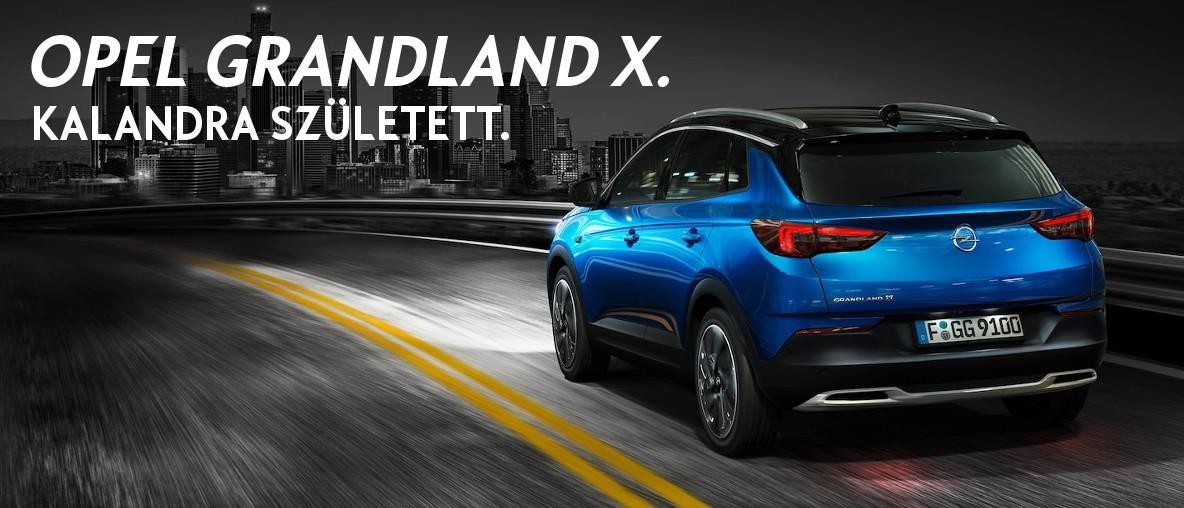 Opel Grandland X. Kalandra született.