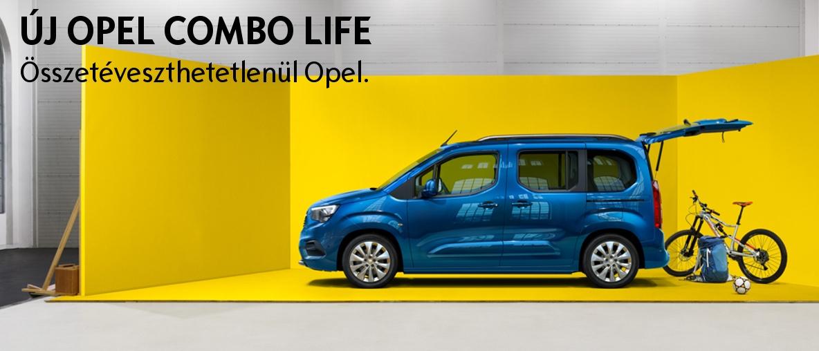 Opel Combo Life innovációk az egész családnak! - Opel Gombos