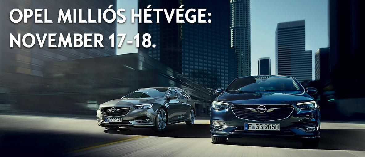 Milliós Hétvége az Opel Gombosnál