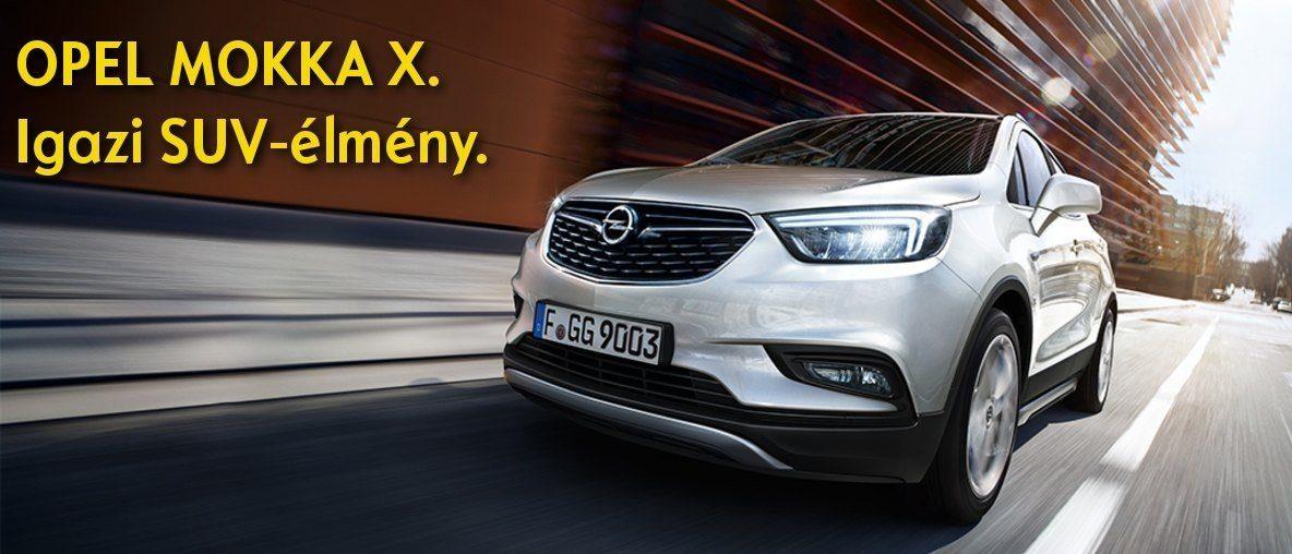Opel Mokka X. Igazi SUV-élmény. - Opel Gombos