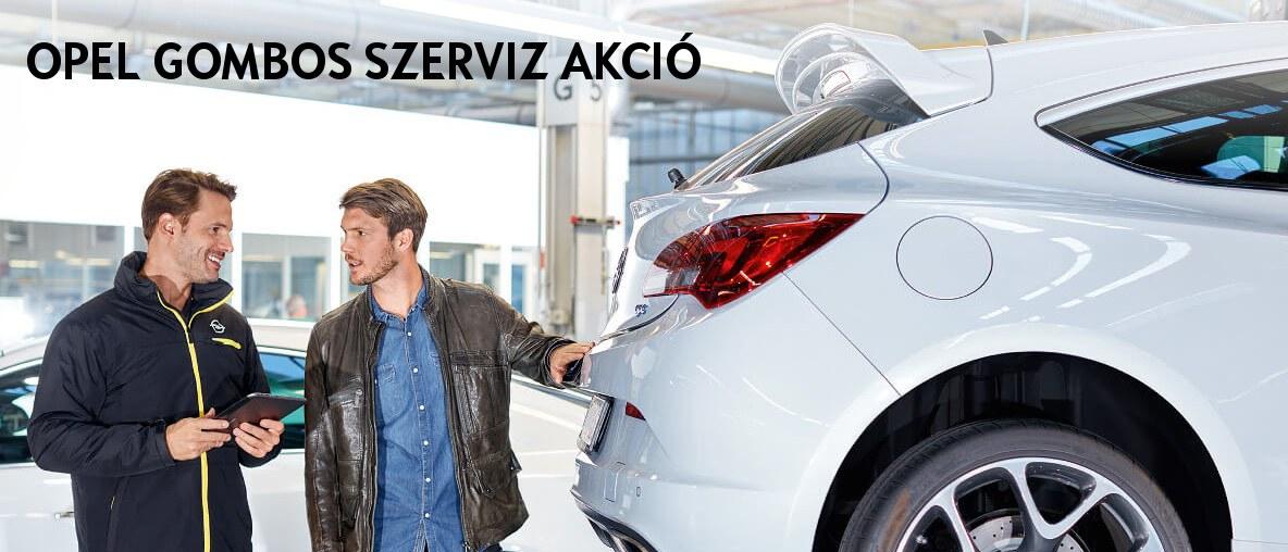 Opel Gombos szerviz akció - Olajcsere és karosszéria.