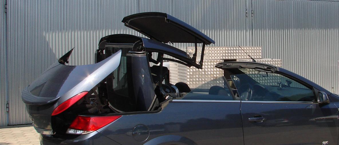 TwinTop tető javítás