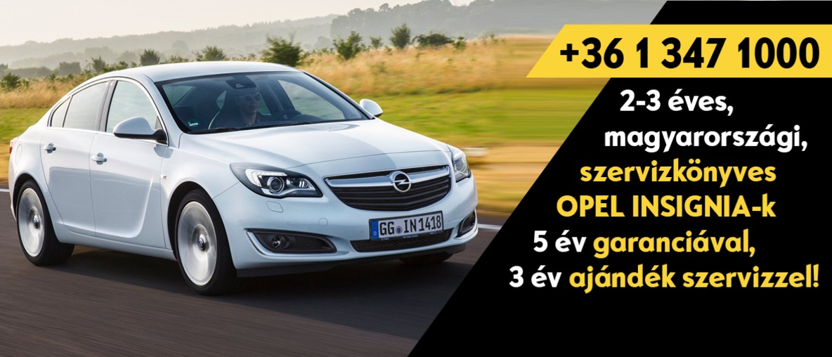 Opel Insignia Opel Budapest