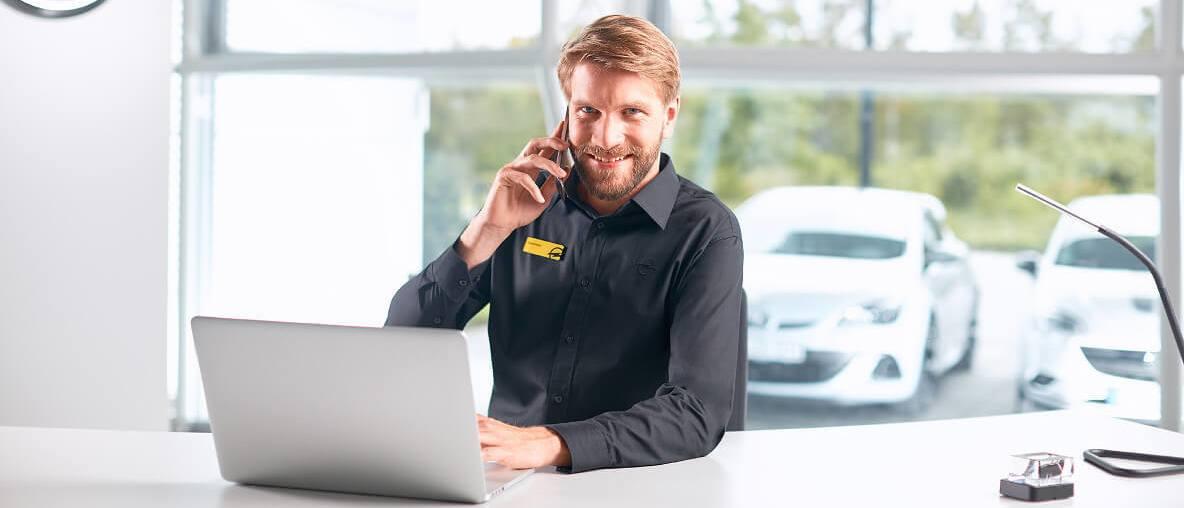 Opel Business Class Service Kapcsolattartó