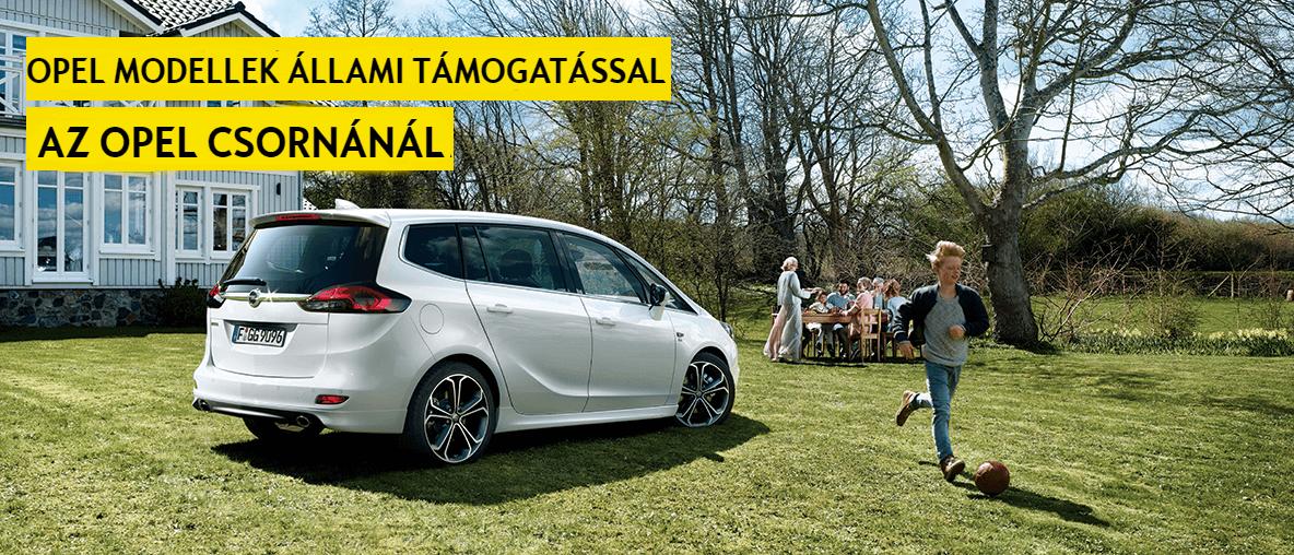 Opel Csorna Családtámogatás