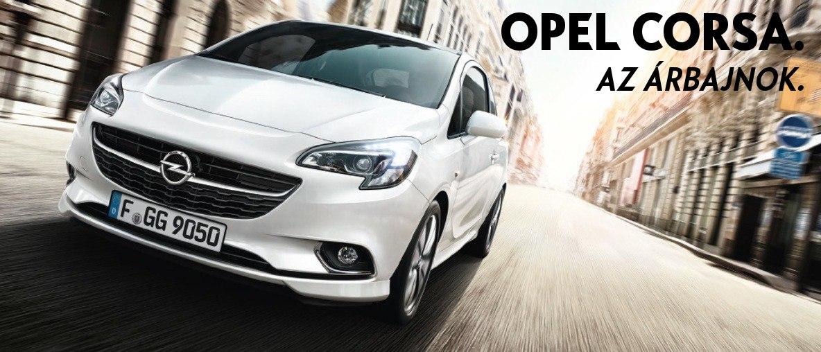 Opel Corsa, az árbajnok - Opel Tóth, Budapest