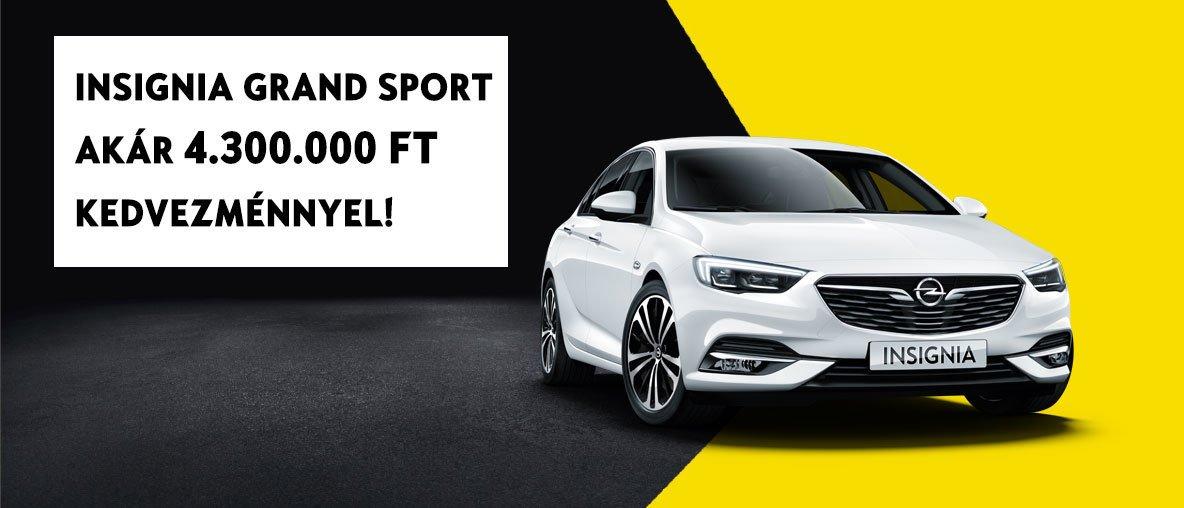 Insignia Grand Sport - Opel Gombos