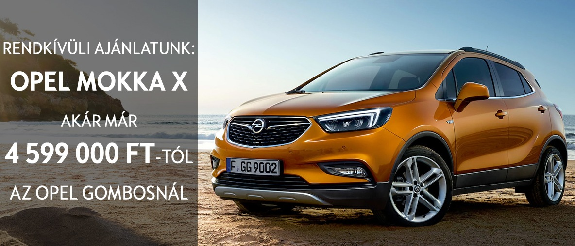 Opel Mokka X ajánlat