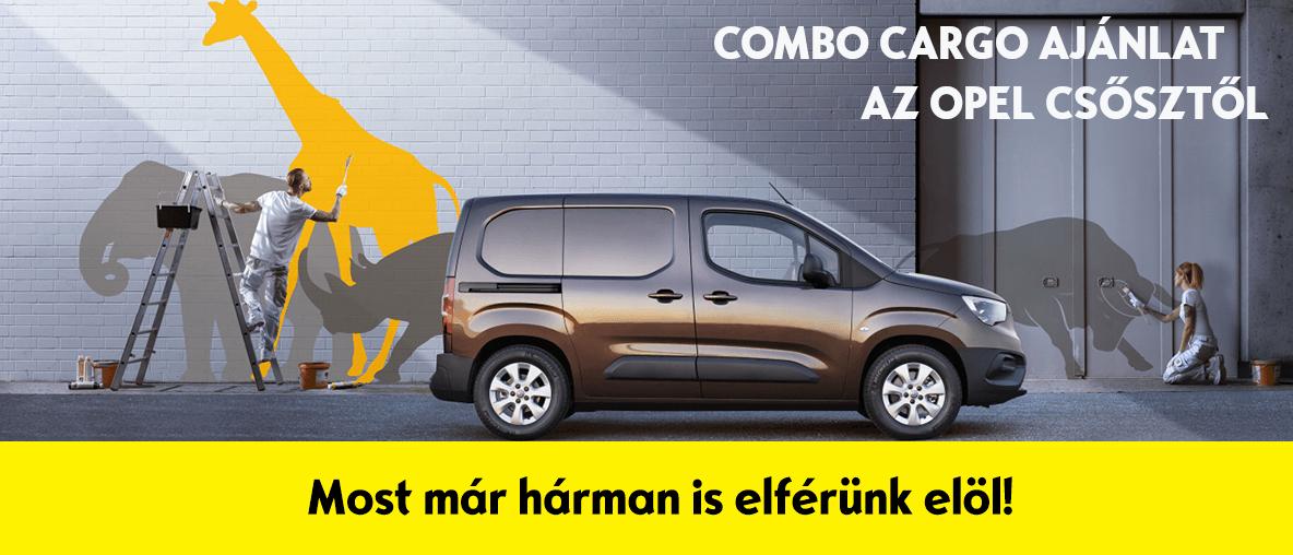 Combo Cargo ajánlat az Opel Csősztől!