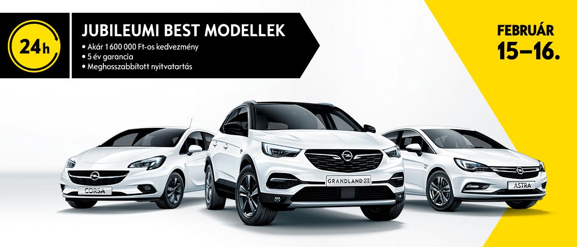 Opel Lukács, 24 h kampány