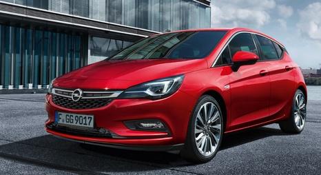 Opel Astra K 5 ajtós