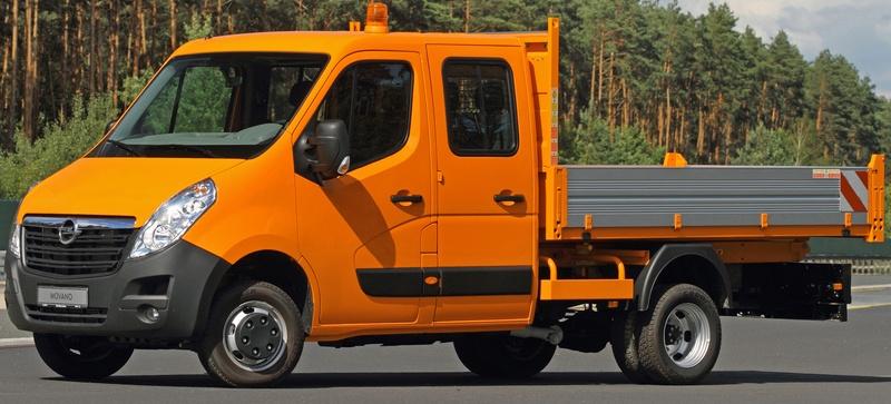 Opel Movano Platós Profi Építkezésre