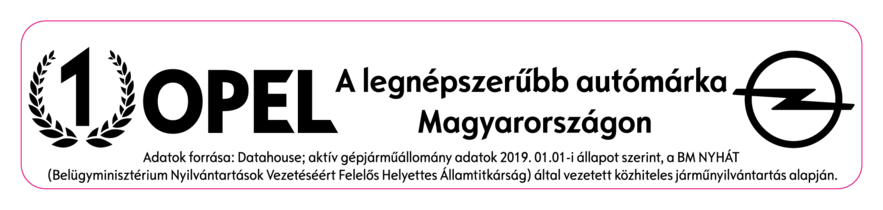 Opel Astra díj 2019