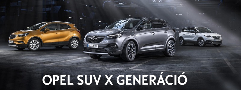 SUV X generáció