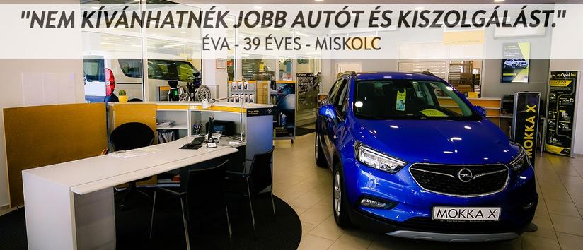 Opel Sajó szalon belülről, Miskolc