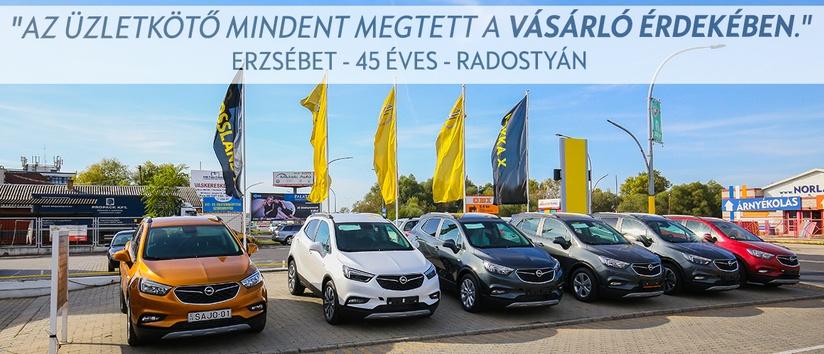 Opel Sajó szalon kivülről, Miskolc