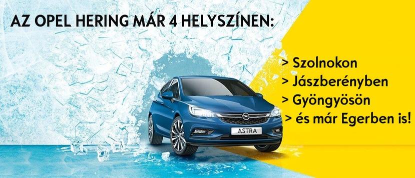 Opel Hering új lokációkkal