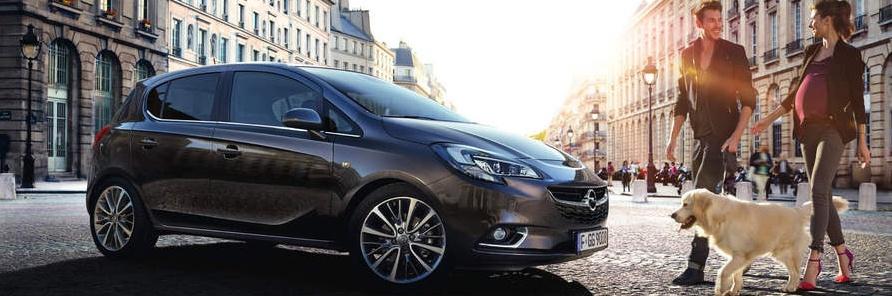 Opel Corsa a városi autó