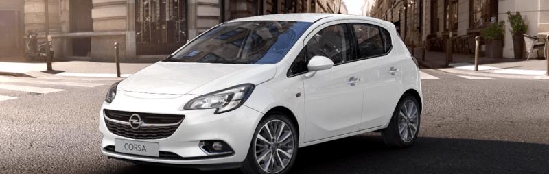 Opel Corsa fehér 5 ajtós