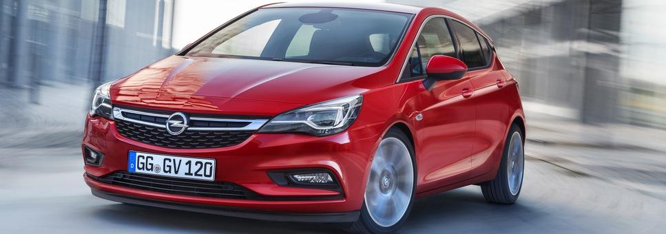 Opel Astra K piros az Opel Gyulainál
