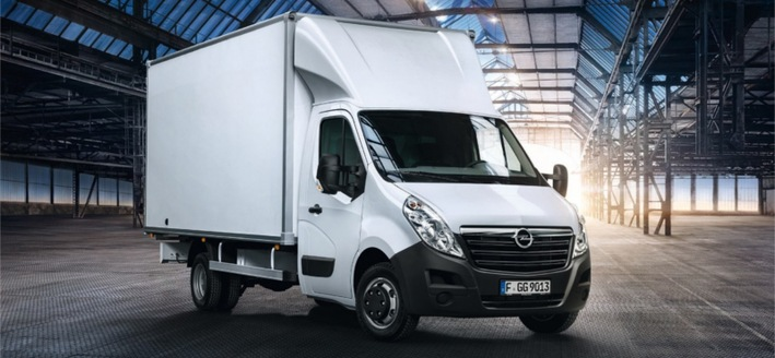 Opel Movano dobozos furgon