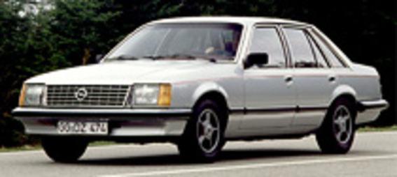 Opel Senator, Opel Monza