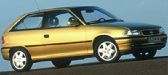 Opel Kadett gyártás leállítás - Opel Astra bevezetés